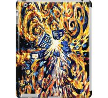 Big Bang Attack Exploded Flamed Phone booth painting iPad Case/Skin