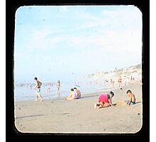 Beach Fun 2 Photographic Print