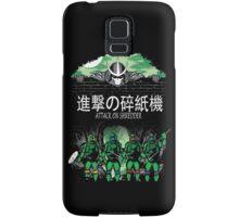 Attack on Shredder (All Turtles) Samsung Galaxy Case/Skin