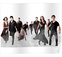 The Vampire Diaries Cast Poster