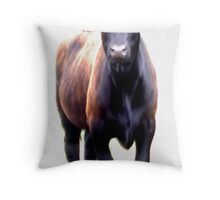 MAD COW! Throw Pillow
