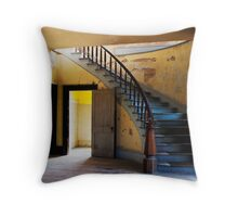 Stairway to Elegance Throw Pillow