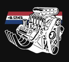 426 HEMI V8 Blown Engine by robotface