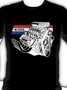 426 HEMI V8 Blown Engine T-Shirt