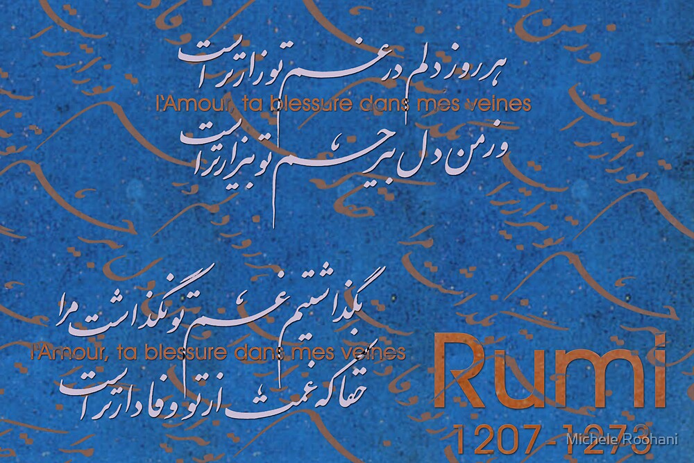 Rumi in love by Michele Roohani