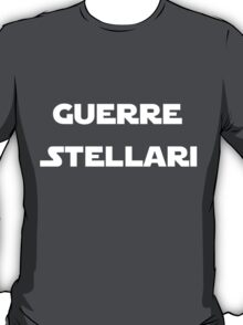 Italian Star Wars T-shirt T-Shirt