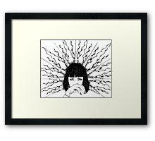Saint Mia Framed Print