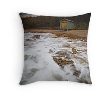 Seven Mile Beach Tasmania Throw Pillow