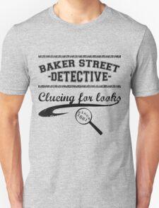 Baker Street Detective (Black) Unisex T-Shirt