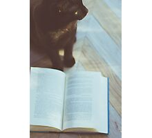 Reading Companion Photographic Print