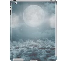 Uncertain. Alone. Cratered By Imperfections. (Loyal Moon) iPad Case/Skin