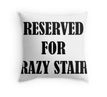 Reserved for 'Crazy Stairs' Throw Pillow