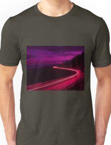 Colorful evening drive Unisex T-Shirt