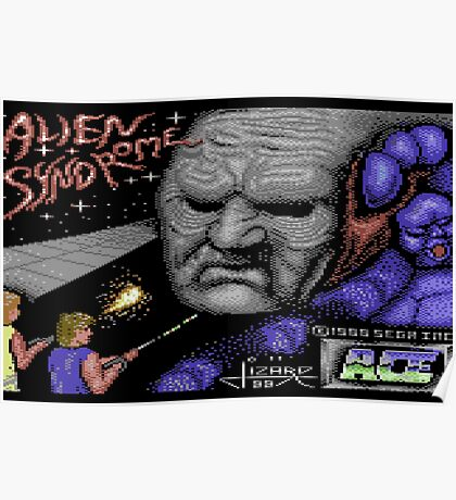 Gaming [C64] - Alien Syndrome Poster