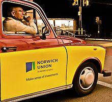 a cab in london by webgrrl