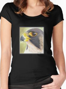 Peregrine Falcon Women's Fitted Scoop T-Shirt
