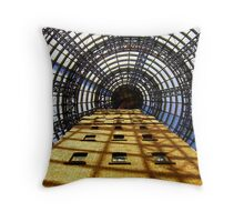 """come into my web"" , said the spider to the fly.................................. Throw Pillow"