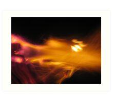 Fire Fight #4 Art Print