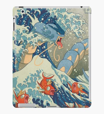 The Great Wave iPad Case/Skin