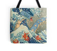 The Great Wave off Kanto Tote Bag