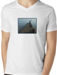 Walkway into the mist Mens V-Neck T-Shirt