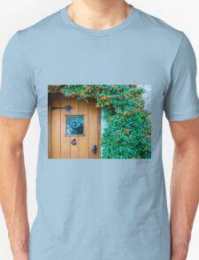 Traditional English front door Unisex T-Shirt