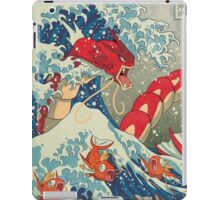 The Great Wave off Kanto - Shiny Version iPad Case/Skin