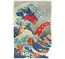 The Great Wave off Kanto - Shiny Version Poster
