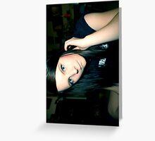 self portrait. Greeting Card