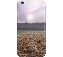 Low Winter Sun iPhone Case/Skin