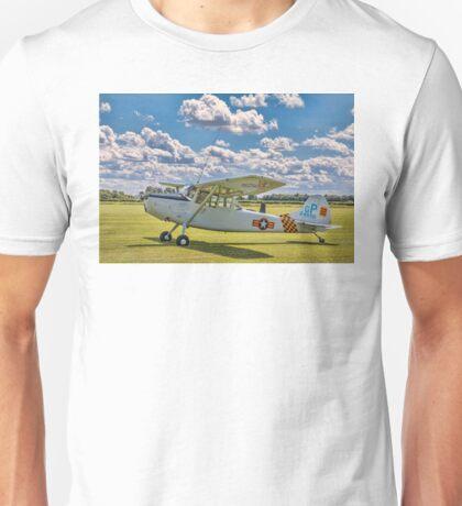 Cessna O-1E Bird Dog 24550/GP G-PDOG Unisex T-Shirt