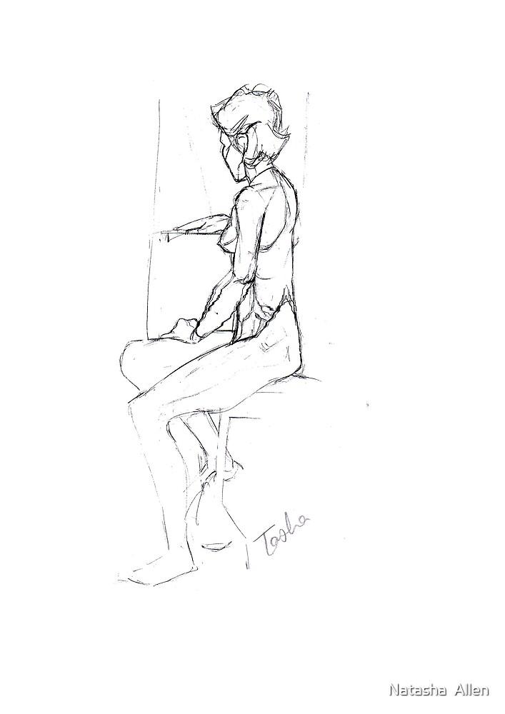 Figure Drawing by Natasha  Allen