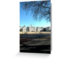 Whitehall, London Greeting Card