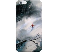 Past The Plunge.. iPhone Case/Skin