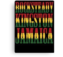 Rocksteady Kingston Jamaica Canvas Print