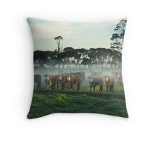 Morning assembly Throw Pillow