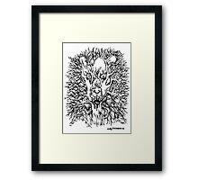 TreeLion Framed Print