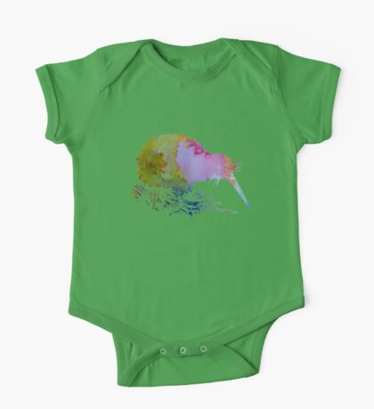Kiwi Bird One Piece - Short Sleeve