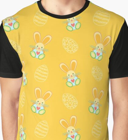 Funny Bunny Graphic T-Shirt