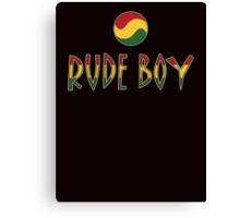 Rude Boy Canvas Print
