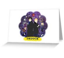 Deduce Greeting Card