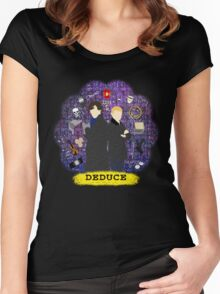 Deduce Women's Fitted Scoop T-Shirt