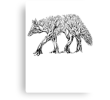 TreeWolf Canvas Print