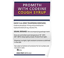 Promethazine Label Poster