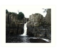 The River Tees, High Force, Upper Teesdale Art Print