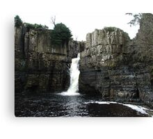 The River Tees, High Force, Upper Teesdale Canvas Print