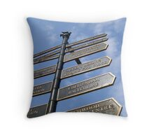So Many Choices Throw Pillow