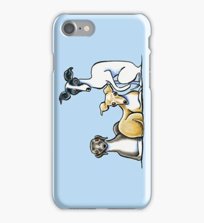 Italian Greyhound Trio iPhone Case/Skin