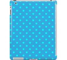 Polkadots Blue and Turquoise iPad Case/Skin