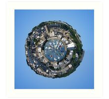 Planet St Ives Art Print